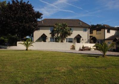 Devon Palms rear cottages