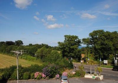 Devon Palms view across county